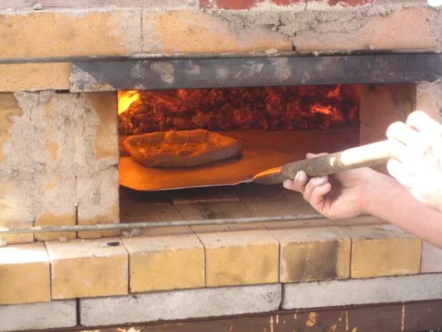 Kemerli Tuğlalı Pizza Ekmek Fırını Yapmak