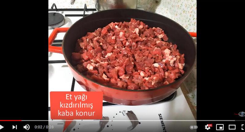 Et Kavurmasında Etin Piştiğini Nasıl Anlarız?